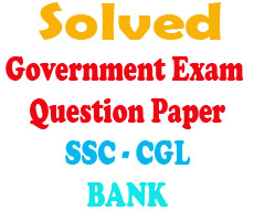 SSc ,Bank Po GK Question Paper Solved