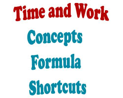 Time and Work Concept