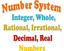 Number System Classification