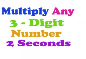 Multiplication trick - multiply any 3 digit number, maths trick, aptitude, teach me daily
