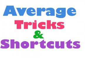 average, average tricks maths, average maths