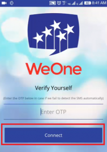 how to earn money from weone app