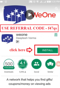 what is weone and how to use it 1