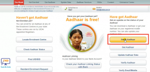 how to download aadhar card online with enrolment number