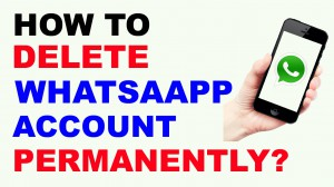 HOW TO DELETE WHATSAPP ACCOUNT PERMANENTLY