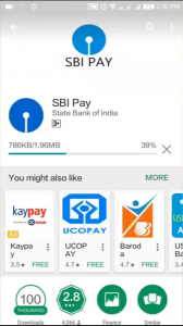sbi pay upi app