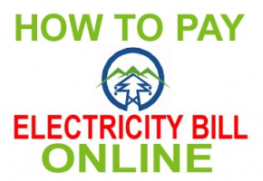 HOW TO PAY ELECRICITY BILL OLINE