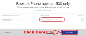 how to book jio phone online booking