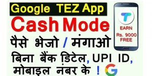 How to Use Tez Cash Mode Feature