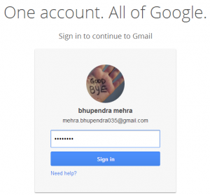 how can i sign out my gmail account from all devices